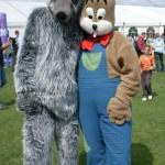 Vlk - šedý a Zajačik