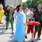 Modrá Víla, Pinocchio, Peter Pan,